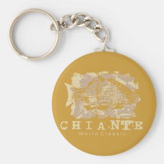 Chiante Fish Tshirts and Gifts Key Chain