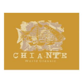 Chiante Fish Tshirts and Gifts Postcard