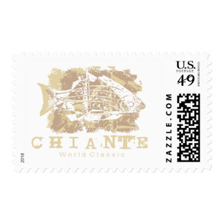Chiante Fish Tshirts and Gifts Stamp