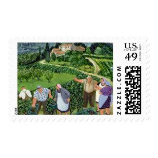 Chianti Classico Villa Trasqua Postage Stamp