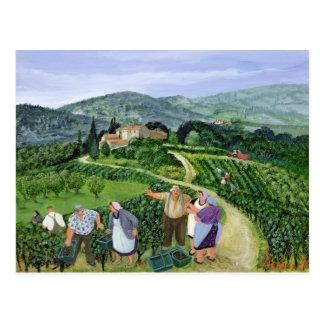 Chianti Classico Villa Trasqua Postcard