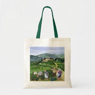 Chianti Classico Villa Trasqua Tote Bag