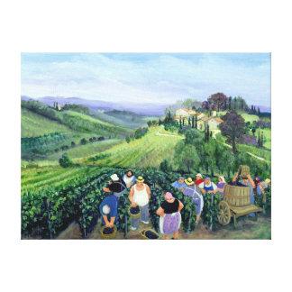 Chianti Landscape Canvas Print