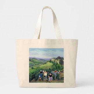 Chianti Landscape Large Tote Bag