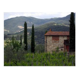 Chianti Postcard