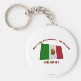 Chiapas - Más Que un Lugar ... Mi Hogar Keychains