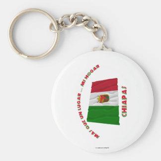 Chiapas - Más Que un Lugar ... Mi Hogar Key Chains