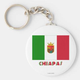 Chiapas Unofficial Flag Key Chains