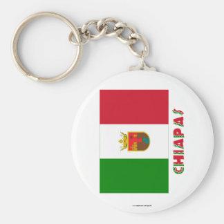 Chiapas Unofficial Flag Keychains