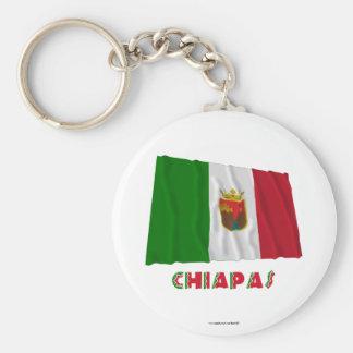 Chiapas Waving Unofficial Flag Keychain