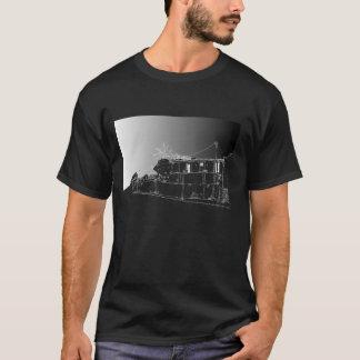 Chiappini Street, Cape Town. Dark Night. T-Shirt