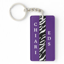 Chiari and EDS Awareness Acrylic Keychain