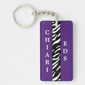 Chiari and EDS Awareness Acrylic Keychain