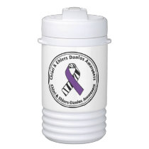 Chiari and EDS Awareness Beverage Cooler