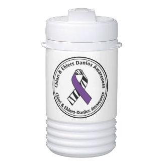 Chiari and EDS Awareness Beverage Cooler