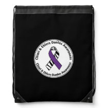 Chiari and Ehlers Danlos Awareness Cinch Bag