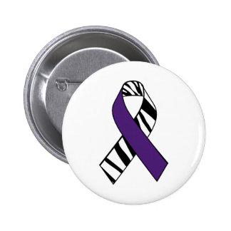 Chiari and Ehlers Danlos Awareness Ribbon Button