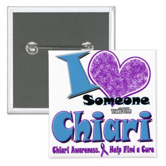 Chiari Awareness 2 Inch Square Button
