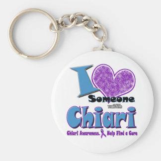 Chiari Awareness Keychain