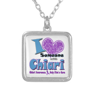 Chiari Awareness Silver Plated Necklace