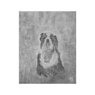 Chiari Dog: Cavalier King Spaniel Canvas Print