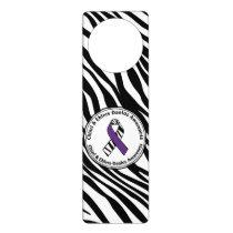 Chiari EDS Zebra Print Door Hanger