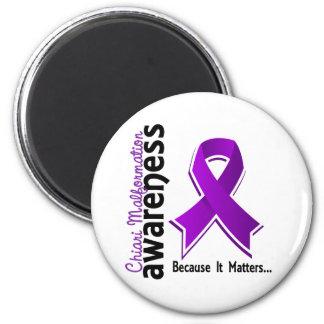 Chiari Malformation Awareness 5 2 Inch Round Magnet