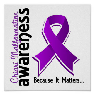 Chiari Malformation Awareness 5 Poster