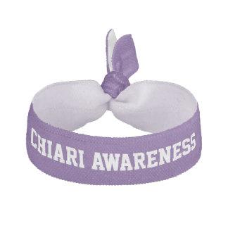 Chiari Malformation Awareness Purple Hair Tie