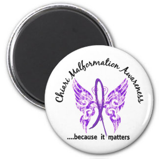 Chiari Malformation Butterfly 6.1 Magnet