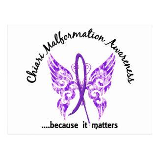 Chiari Malformation Butterfly 6.1 Postcard