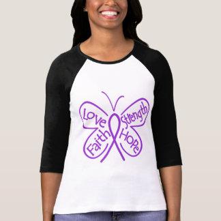 Chiari Malformation Butterfly Inspiring Words T-Shirt