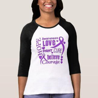 Chiari Malformation Hope Words Collage Shirt