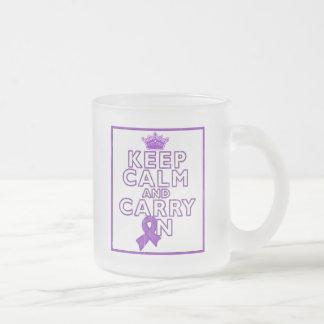Chiari Malformation Keep Calm and Carry On Coffee Mugs