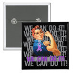 Chiari Malformation Rosie WE CAN DO IT Buttons