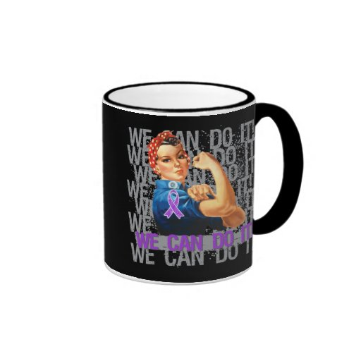 Chiari Malformation Rosie WE CAN DO IT Coffee Mugs