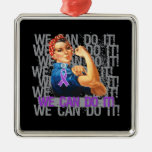Chiari Malformation Rosie WE CAN DO IT Christmas Tree Ornaments