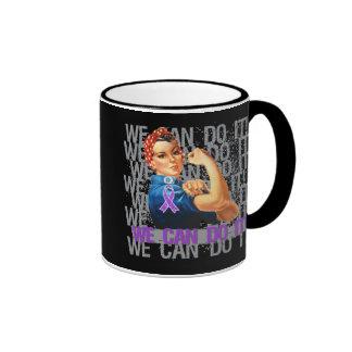 Chiari Malformation Rosie WE CAN DO IT Ringer Mug