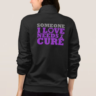 Chiari Malformation Someone I Love Needs A Cure Printed Jacket