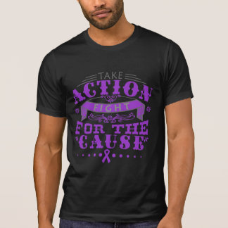 Chiari Malformation Take Action Fight For Cause T Shirts