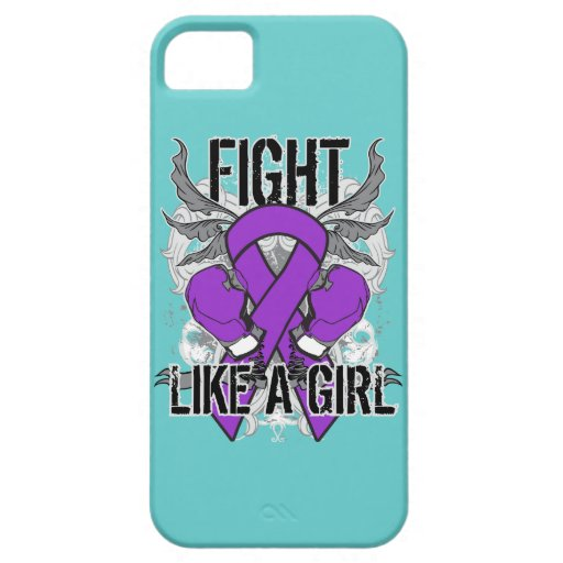 Chiari Malformation Ultra Fight Like A Girl iPhone 5 Covers