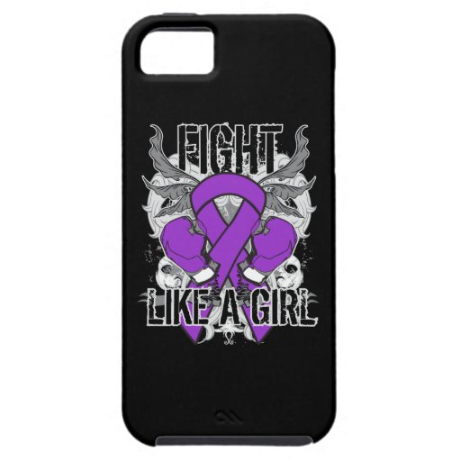 Chiari Malformation Ultra Fight Like A Girl iPhone 5 Cover