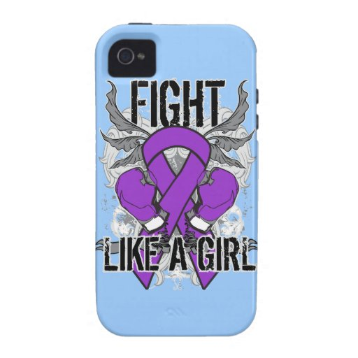 Chiari Malformation Ultra Fight Like A Girl iPhone 4/4S Covers