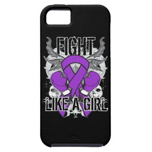 Chiari Malformation Ultra Fight Like A Girl iPhone 5 Case