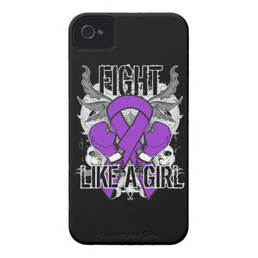 Chiari Malformation Ultra Fight Like A Girl iPhone 4 Cover