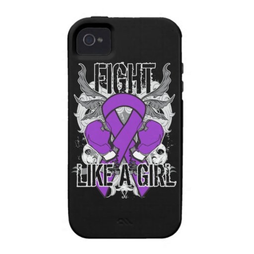 Chiari Malformation Ultra Fight Like A Girl Case-Mate iPhone 4 Cover