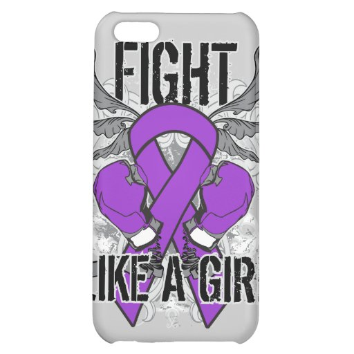 Chiari Malformation Ultra Fight Like A Girl Cover For iPhone 5C