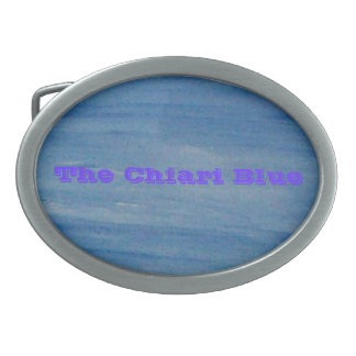 Chiari Oval Belt Buckle