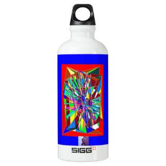 Chiari Ribbon. Aluminum Water Bottle