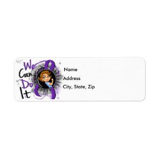 Chiari Rosie Cartoon WCDI Label
